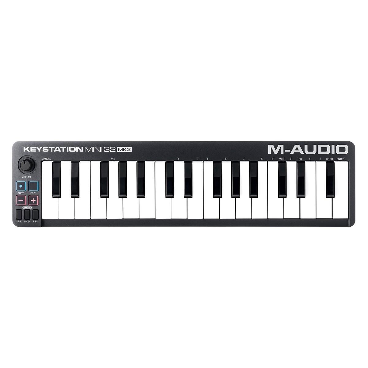 M AUDIO SMALL MIDI KEYBOARD - PORTABLE