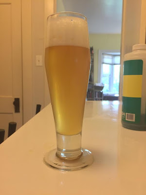 Early pour of the NEIPA I'll be pouring!
