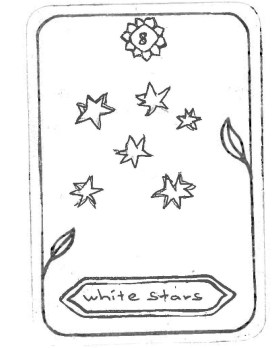 "White Stars, by Blanca Inspired by 'Strength' ""The white bright stars bring light and power in the world."""