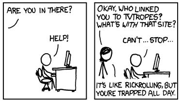 xkcd TV Tropes