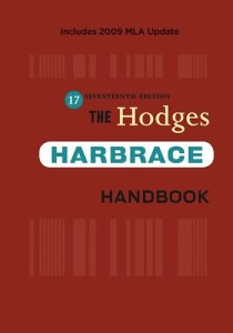 Hodges Harbrace Handbook - 17th Edition