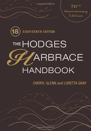 Writer's Toolkit: The Hodges Harbrace Handbook