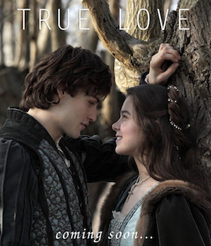Douglas Booth and Hailee Steinfeld as Romeo and Juliet