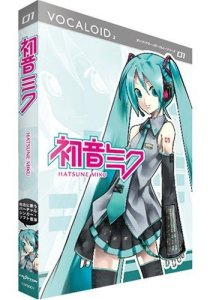 Hatsune Miku software for the VOCALOID2 engine