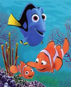 Marlin, Dory and Nemo