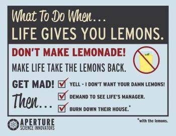 Lemons - Portal 2