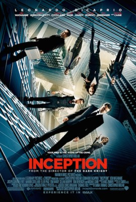 Movie poster for Inception (2010)