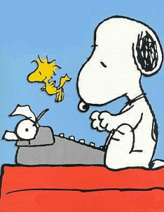 Snoopy_Typewriter