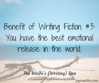 perks of being a fiction writer emotional release