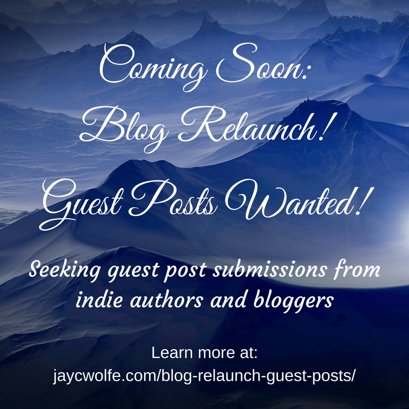 May Updates on My Books and Blog Relaunch + Guest Posts Still Wanted!