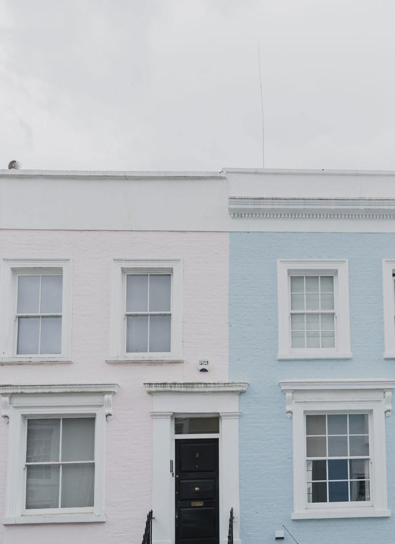 Prettiest Places to visit in London - Notting Hill and Chelsea