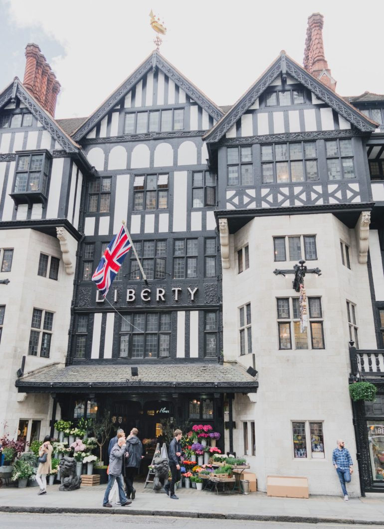 Prettiest Places to visit in London - Liberty London