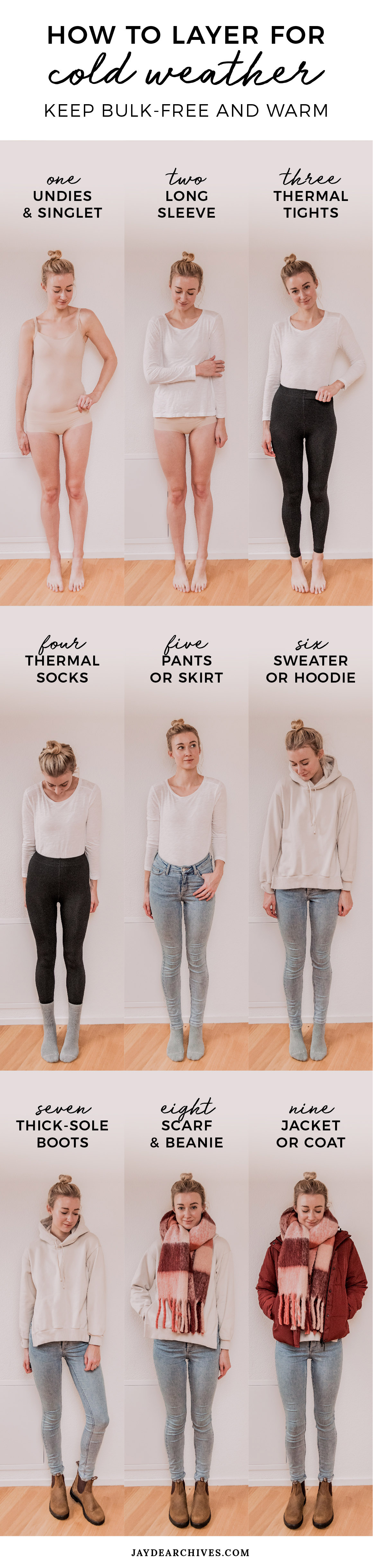 How To Layer Clothes For Cold Weather Bulk Free And Warm