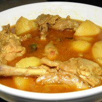 Murgir Jhol - Bengali style Chicken Curry