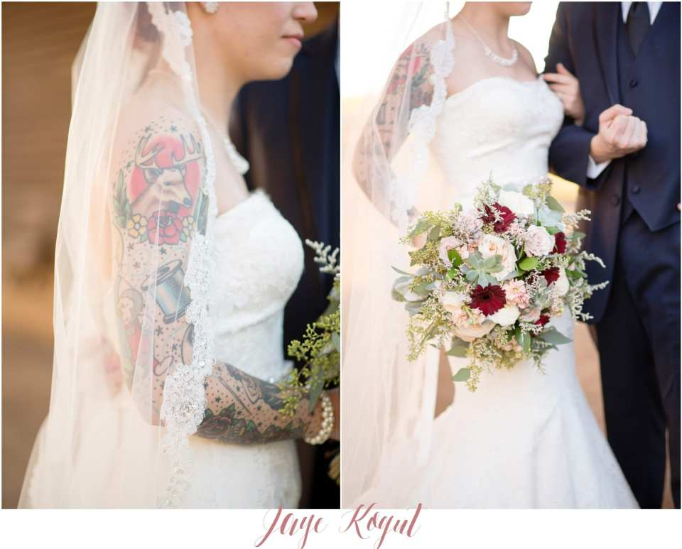 tattooed bride photos
