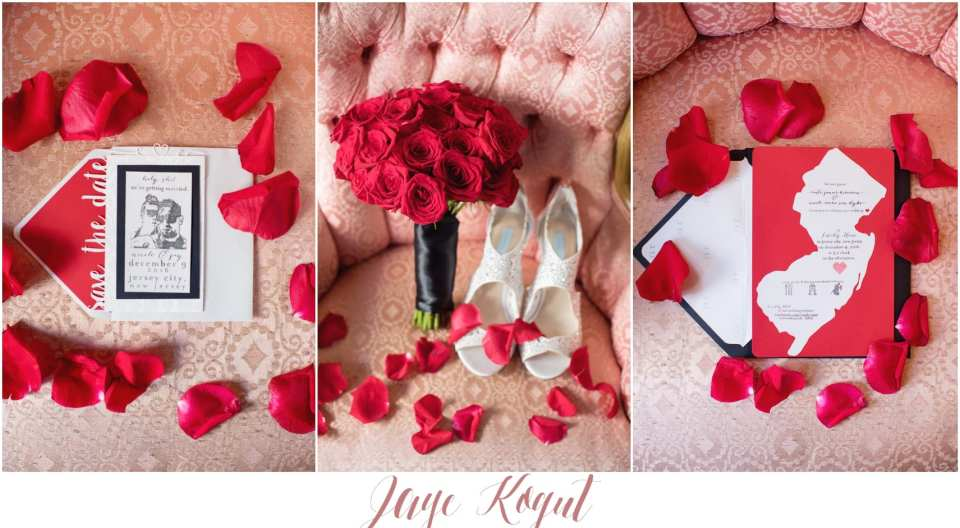 the bouqs bouquet, red rose wedding bouquet