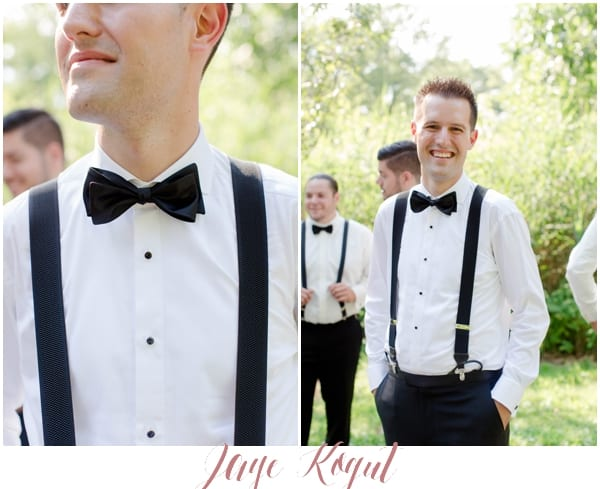 groom details, newark park wedding photos