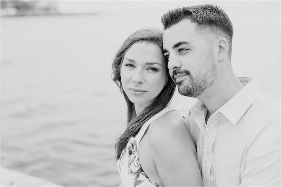 black and white engagement photos, minimalist engagements