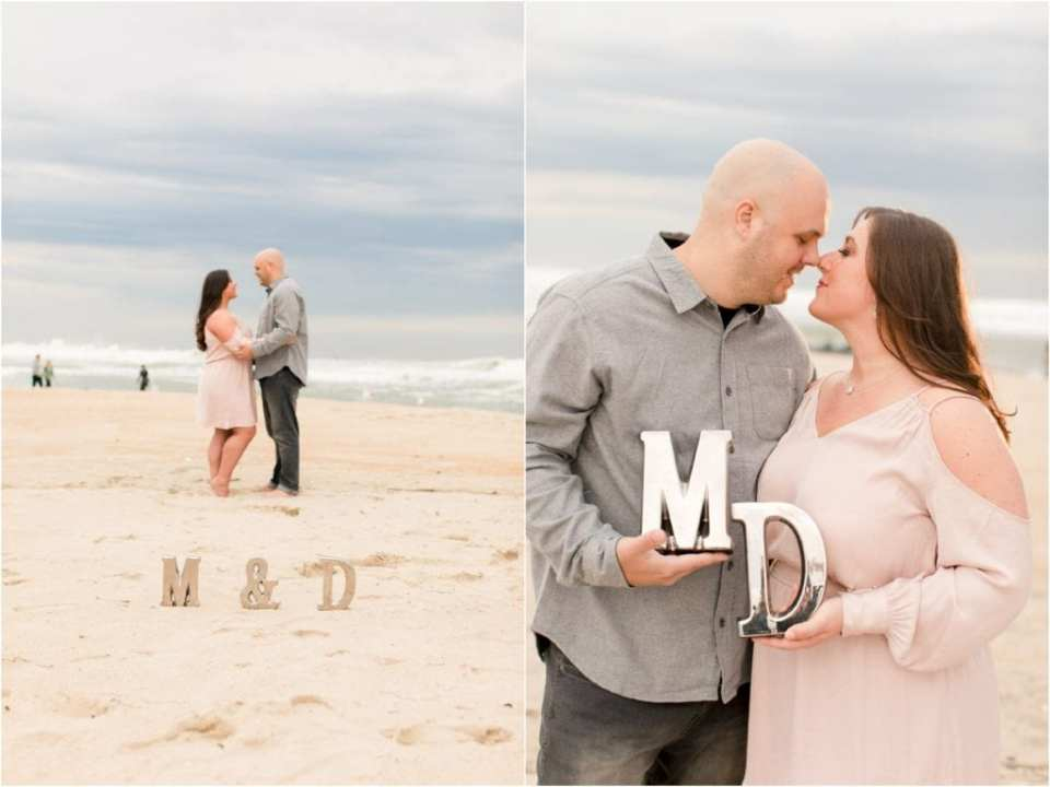 using props at your engagement photo session