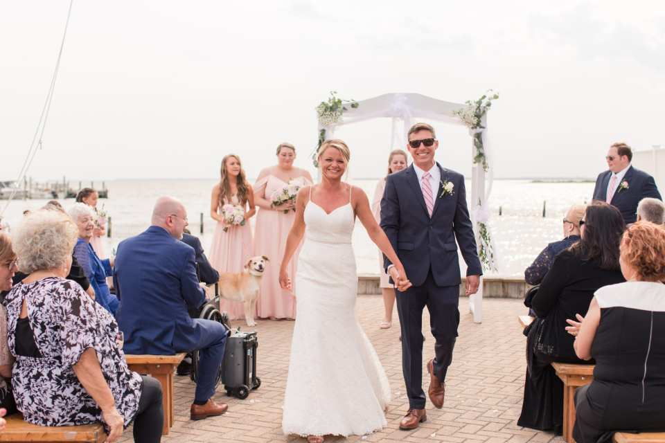 Beach wedding, Brant Beach Yacht Club wedding, NJ wedding photographer, Jersey shore wedding