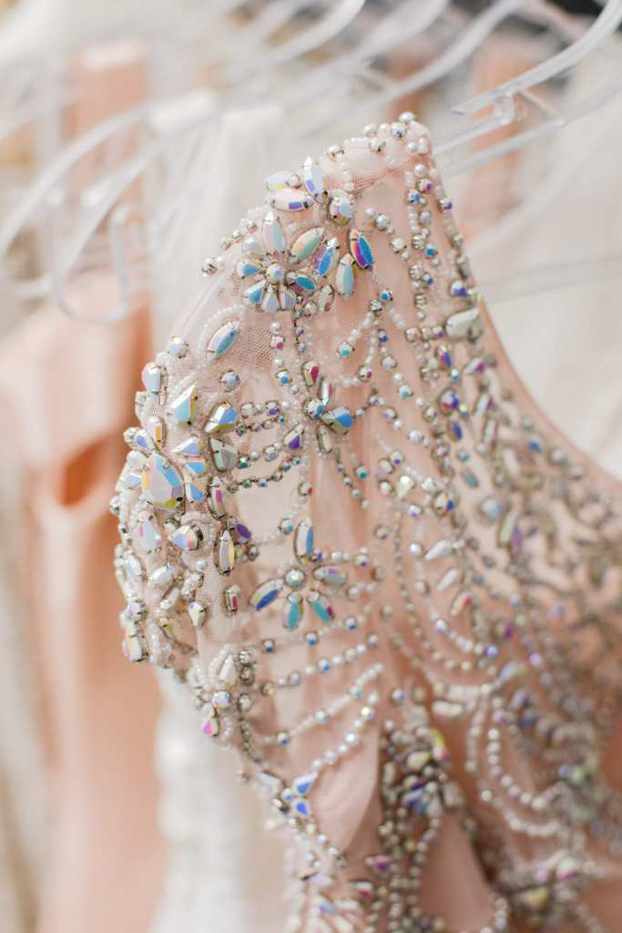 castle couture, beaded scala dress