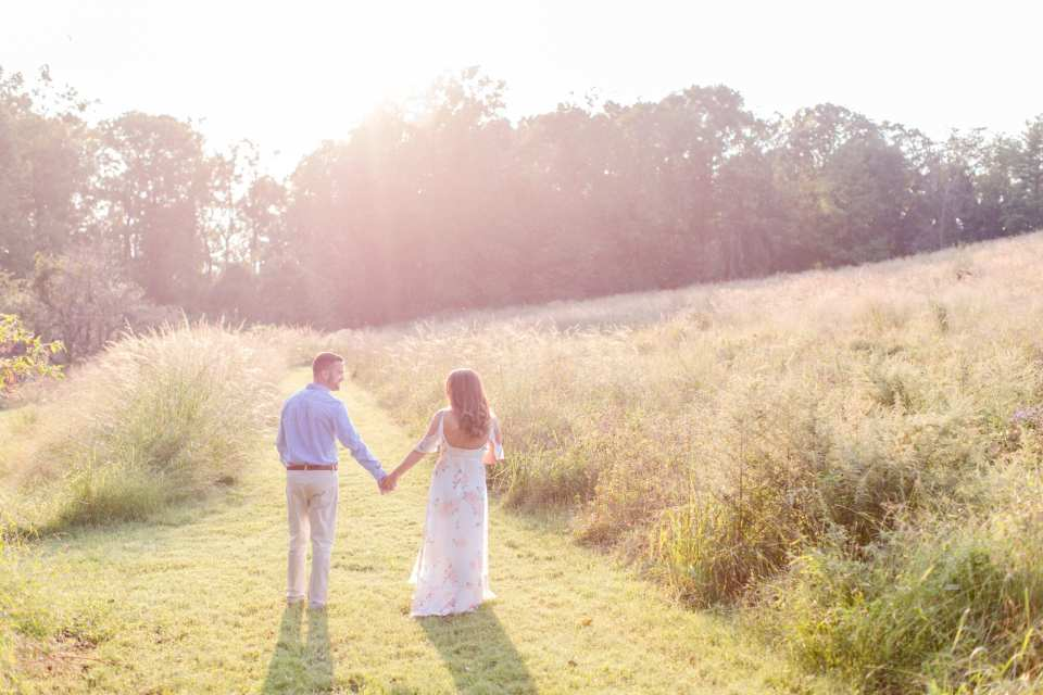 mountain lakes house wedding, baldpate mountain engagement photos, bright and airy engagement photography, New jersey wedding photographer