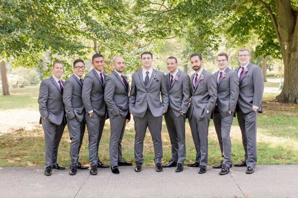 grey groomsmen, Divine Park, Spring Lake, NJ