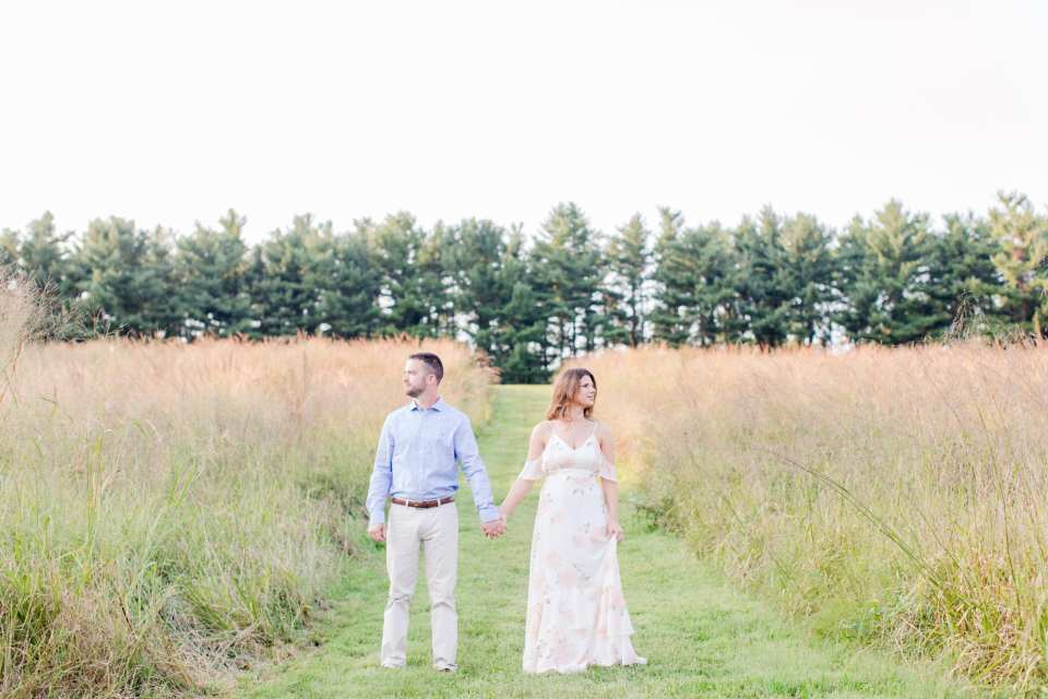 mountain lakes house wedding, baldpate mountain engagement photos