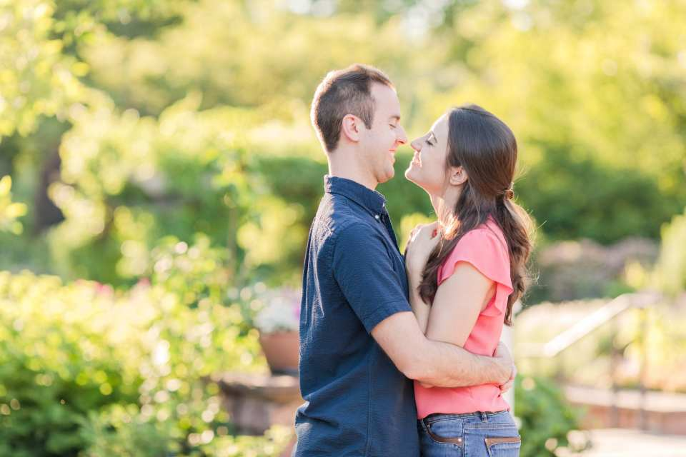 Central New Jersey park engagement session