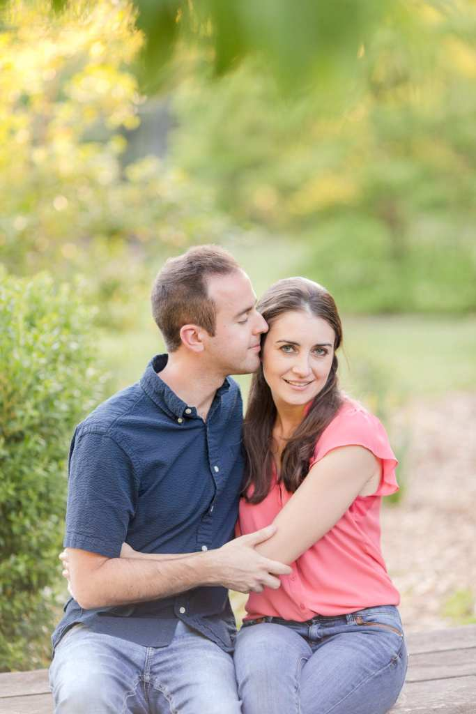 Colonial Park Rose Garden, Somerset New Jersey engagement photos