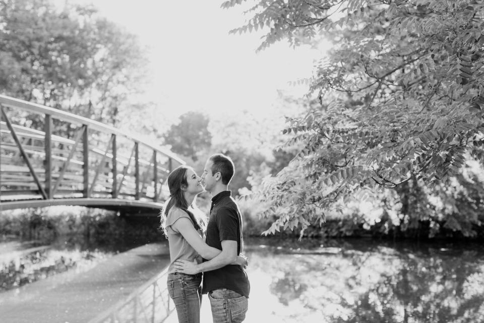 black and white engagement photos, NJ wedding photographer