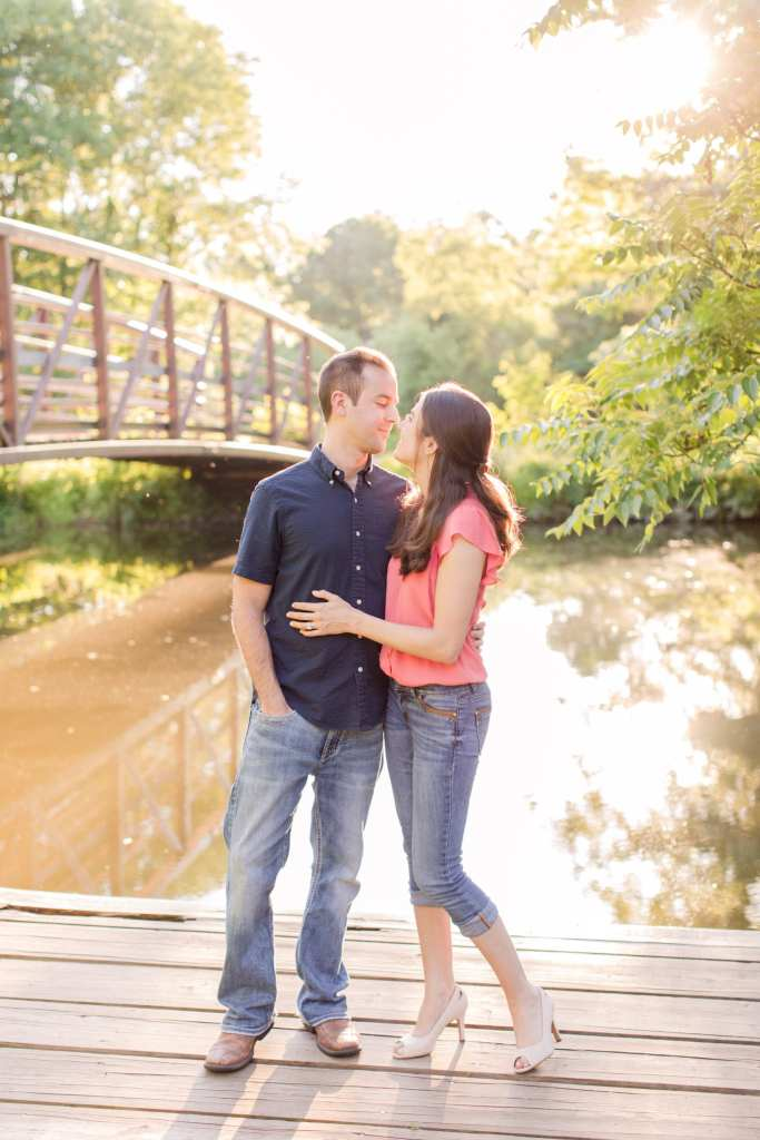 Colonial Park Somerset New Jersey engagement photos