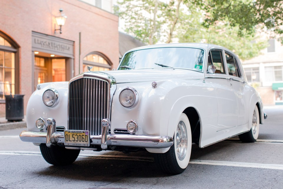 classic Rolls Royce, A1 Limo, Nassau Inn, Princeton weddings