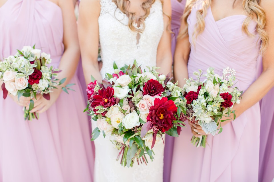 bridal party details, dusty rose bridal party, Main Street Bloomery, NJ wedding photographer