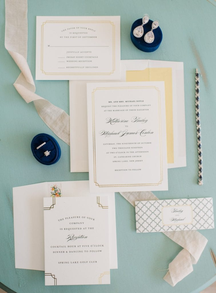 The invitation suite by Minted