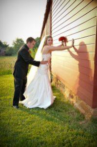 frisking the bride