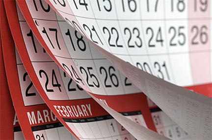 Calendar for trustee provide an accounting