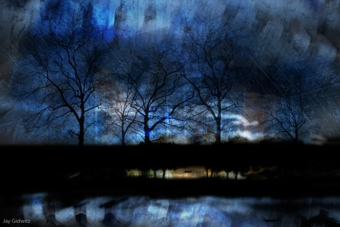 River of Darkness, By Jay Gidwitz, 2007, 20'' x 30''