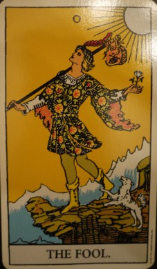 The Fool Rider Waite Deck
