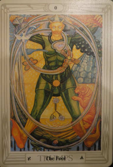 The Fool Thoth Deck