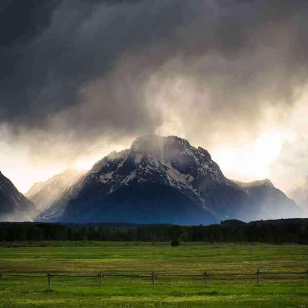 Teton Photo Adventures - Storm Valley Tetons Moran Wyoming