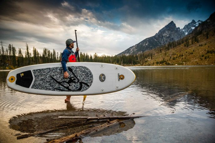 Stand Up Paddle Boarding Tetons