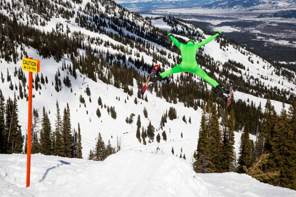 Skiing Costumes Gaper Day Air Jump