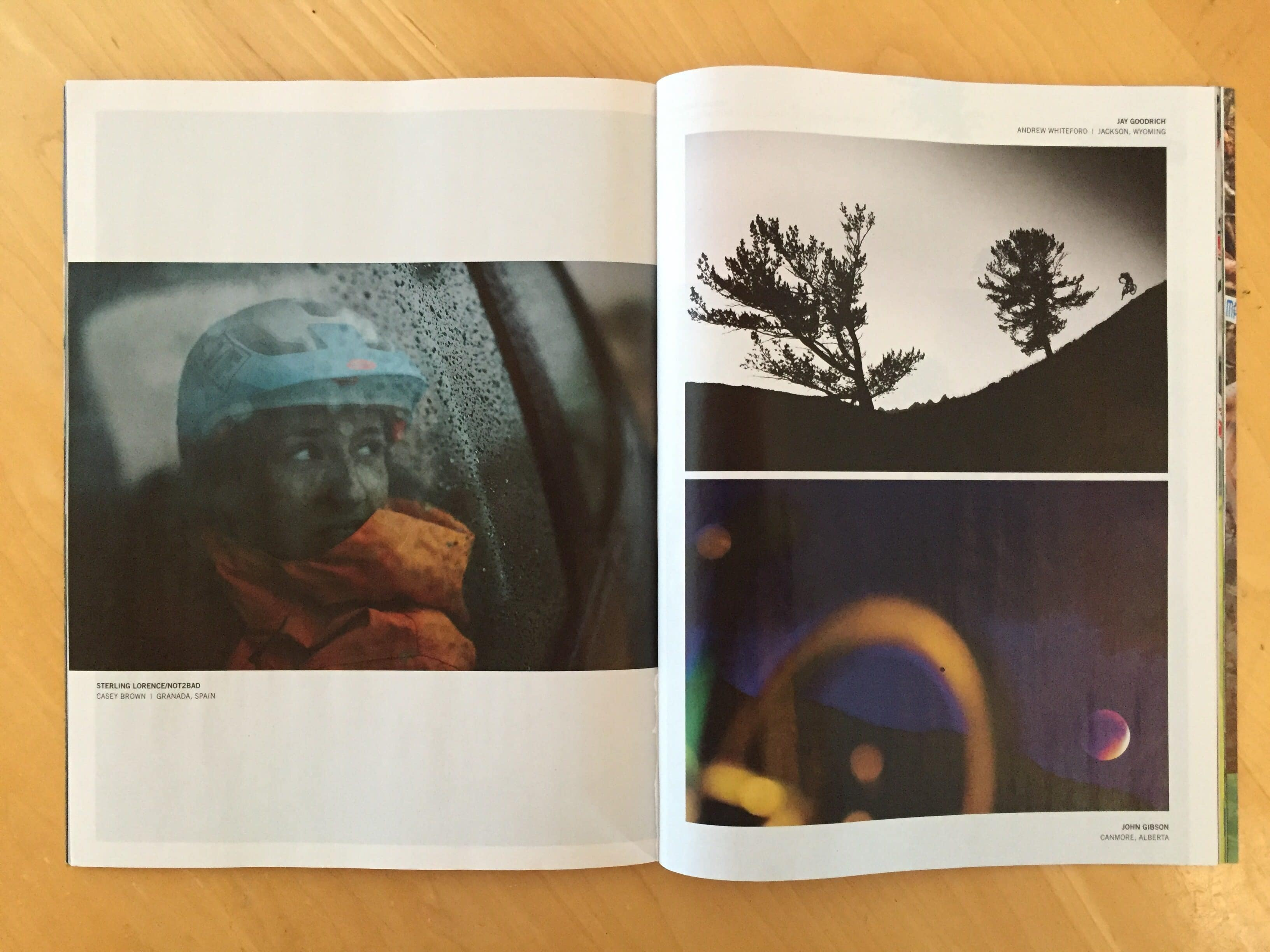 Photos in Print - Bike Magazine - by Jay Goodrich