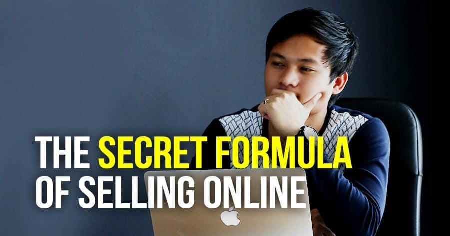 The Secret Formula of Selling Online
