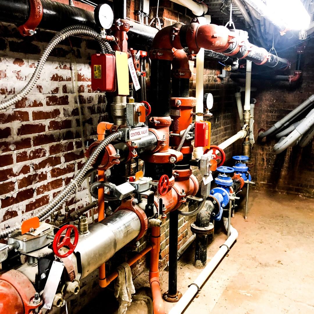 wet sprinkler system