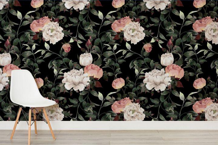 Interior Trend: Moody Blooms