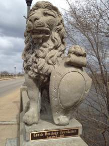 The Iconic lion sculptures welcome visitors to the historic Cedar Rapids neighborhood known as the Czech Village. A party fit for old Saint Joe is looming.....