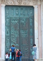 Cathedral main door....
