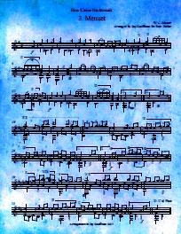 Eine Kleine Nachtmusik Menuetto